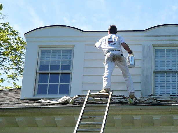 Scevoli Painting Com Inc Exterior Residential Painting Scraping Priming And Painting Wood