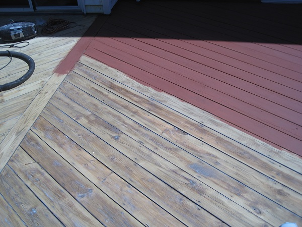 Scevoli Painting Com Exterior Residential Deck Stripping