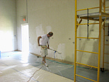 painting commercial building