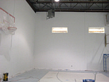 painting gym walls