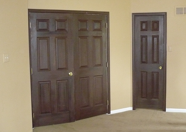Painting Interior Doors · Painting Wood Doors