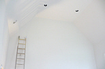 painting a vaulted ceiling